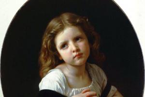 Адольф Вильям Бугро. Молитва