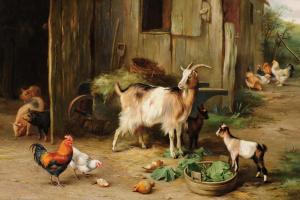 Эдгар Хант. Домашние животные