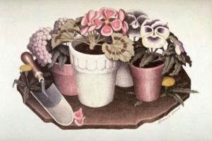Грант Вуд. Домашние цветы