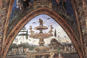 Pinturicchio. Susanna and the elders