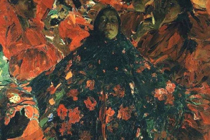 Филипп Андреевич Малявин. Бабы (Зеленая шаль)