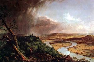 Томас Коул. Пасмурное небо