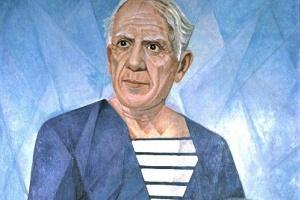 Мария Брониславовна Маревна (Воробьева-Стебельская). Портрет Пабло Пикассо