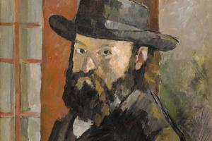 Поль Сезанн. Портрет художника в широкополой шляпе