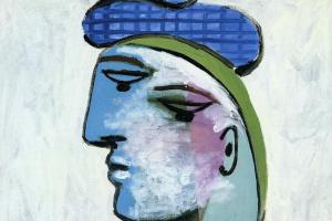 Пабло Пикассо. Мария-Тереза в синем берете