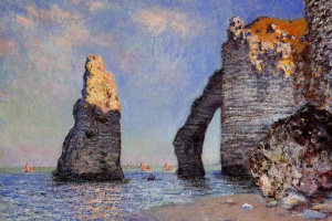 The rock Needle and the Porte d Aval