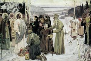 Mikhail Vasilievich Nesterov. Holy Russia