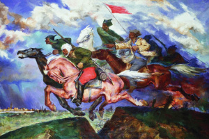 Pavel Petrovich Sokolov-Skalya. Give Warsaw! 1929