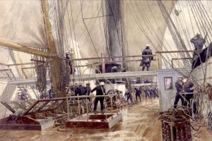 Александр Карлович Беггров. На палубе фрегата «Светлана»