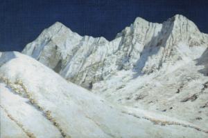 Vasily Vasilyevich Vereshchagin. In India. Snow Of The Himalayas. 1874-1876