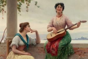 Эжен де Блаас. Венецианская мелодия
