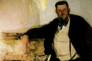 Alexander Alexandrovich Murashko. Portrait Of Jan Stanislavsky