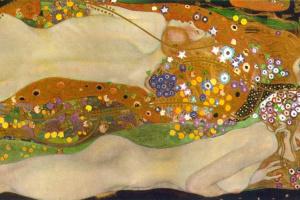 Густав Климт. Водяные змеи II
