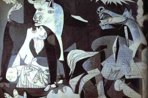Пабло Пикассо. Герника (фрагмент)