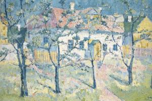 Казимир Северинович Малевич. Весенний сад в цвету