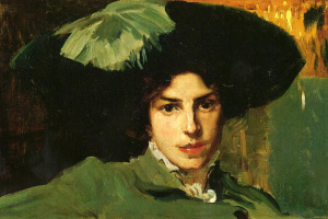 Хоакин Соролья (Соройя). Мария в шляпе