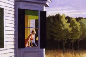 Edward Hopper. Morning on Cape cod