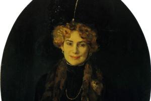 Портрет Евгении Матвеевны Боголюбовой