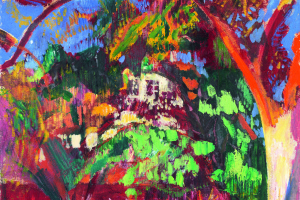 Куно Амье. Деревья в саду, Ошванд