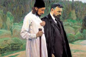 Философы (С. Н. Булгаков и П. А. Флоренский)