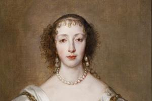 Антонис ван Дейк. Королева Генриетта Мария