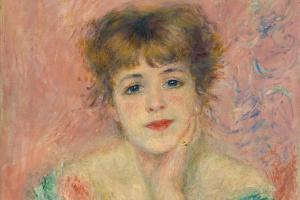Portrait of Jeanne Samary