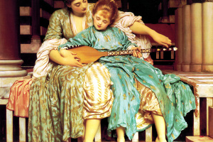 Фредерик Лейтон. Урок музыки
