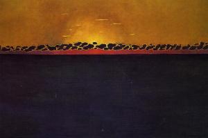 Felix Vallotton. Sunset