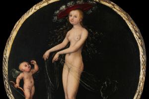 Лукас Кранах Старший. Венера и Амур