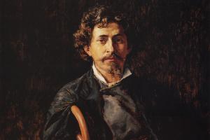 Василий Дмитриевич Поленов. Портрет художника Ильи Репина