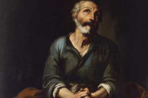 Bartolomé Esteban Murillo. The remorse of the Apostle Peter