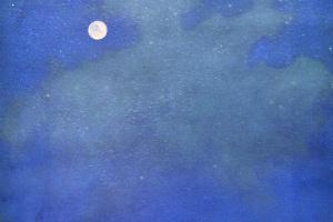Антон Пик. Ночной пейзаж