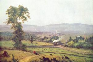 George Innes. Valley Lackawanna