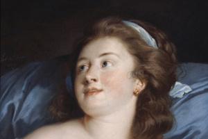 Аделаида Лабий-Гийар. Голова молодой женщины