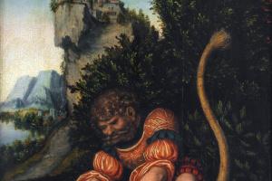 Битва Самсона со львом