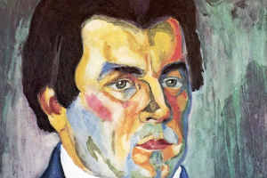 Казимир Северинович Малевич. Автопортрет