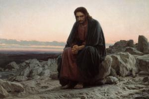 Иван Николаевич Крамской. Христос в пустыне