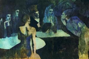 Пабло Пикассо. Свадьба Пьеретты