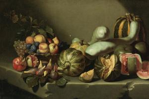 Микеланджело Меризи де Караваджо. Натюрморт с фруктами