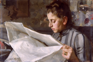 Читающая Эмма