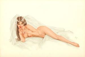 Лежащая невеста.