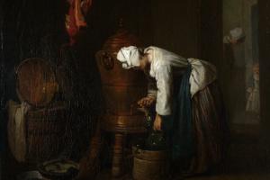 Жан Батист Симеон Шарден. Цистерна с водой
