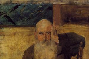 Анри де Тулуз-Лотрек. Старик из Селейрана