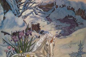 Майкл Гаага. Единорог в цветах
