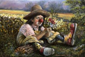 Gennady Dumov. Sad clown