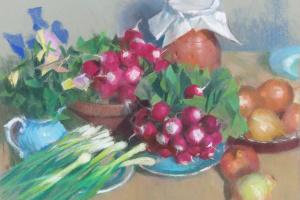 The radishes.