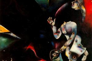 Марк Захарович Шагал. России, ослам и другим