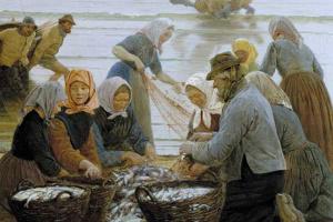 Женщины и рыбаки Хорнбека