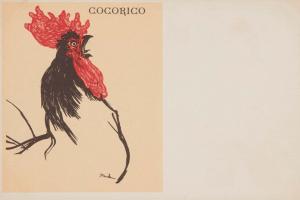 """Рисунок для обложки журнала """"Кокорико"""""""