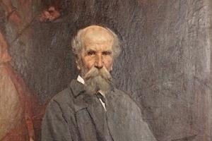 Павел Петрович Чистяков. Савинский Василий Евменьевич (1859–1937) - Портрет Чистякова